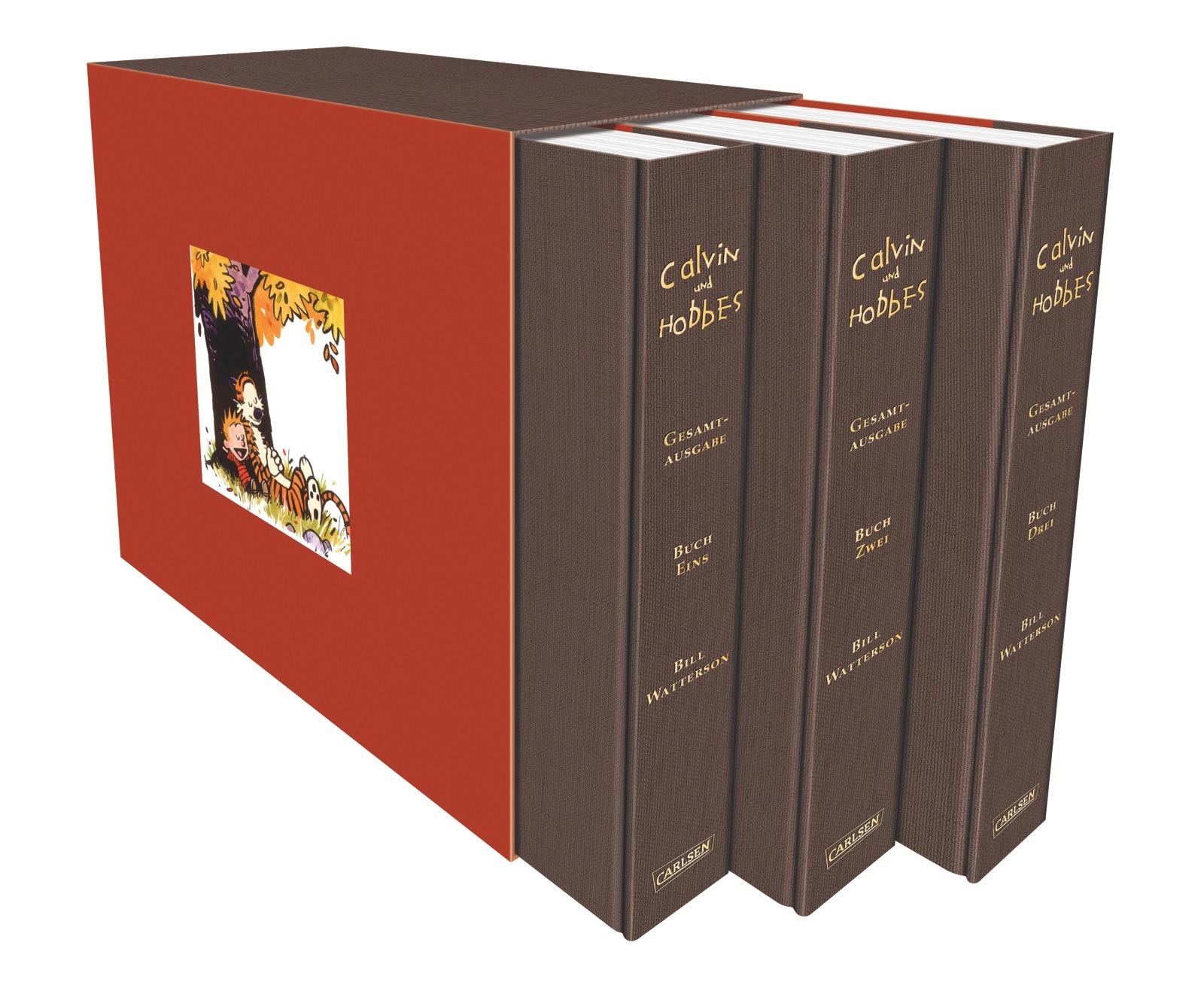 Calvin und Hobbes Gesamtausgabe - Bill Watterson [3 Bände im Schuber]