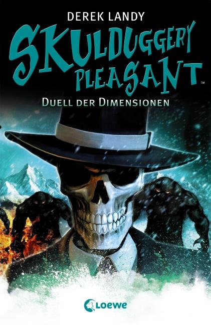Skulduggery Pleasant: Band 7 - Duell der Dimensionen - Derek Landy [Gebundene Ausgabe]
