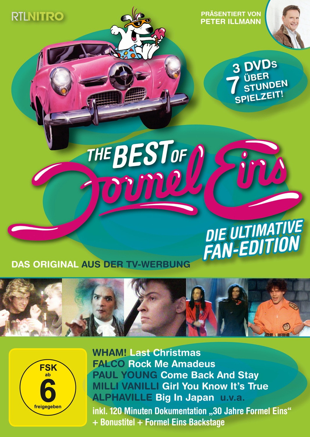 Various Artists: The Best of Formel Eins - Die ultimative Fan-Edition [3 DVDs]