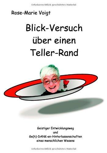 Blick-Versuch über einen Teller-Rand - Voigt, R...