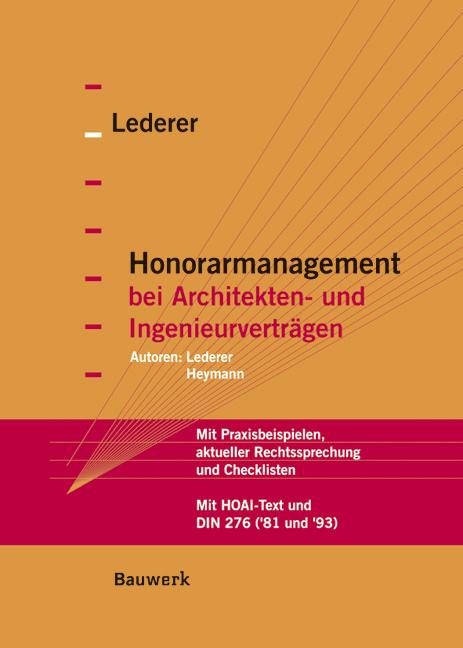 Honorarmanagement bei Architekten- und Ingenieu...