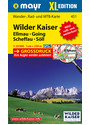 Wilder Kaiser XL: Wander-, Rad- und Mountainbikekarte. GPS-genau. 1:25000