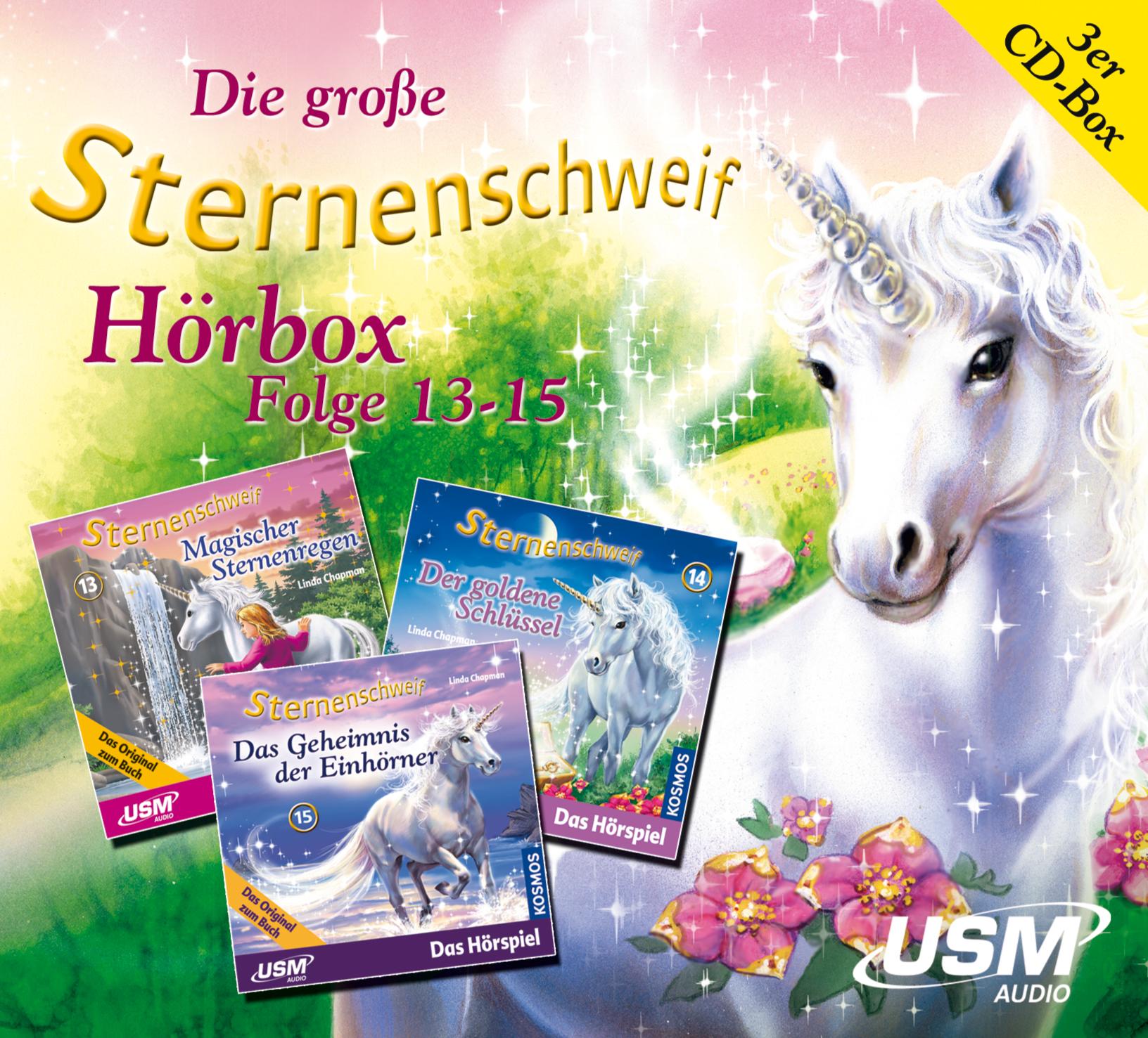 Die große Sternenschweif Hörbox Folge 13-15 - Linda Chapman [3er Audio CD-Box]