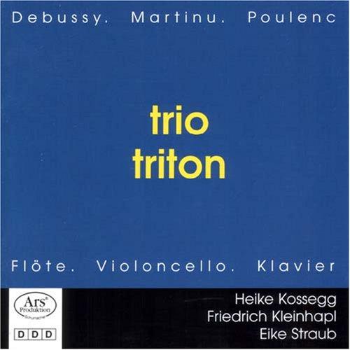 trio triton - Trio Triton: Debussy, Martinu, Po...