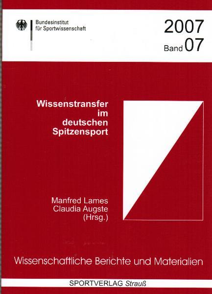 Wissenstransfer im deutschen Spitzensport