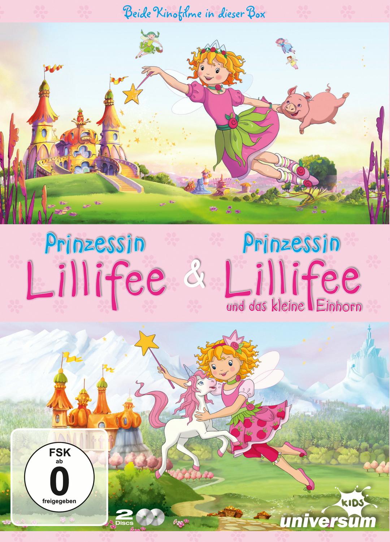 Prinzessin Lillifee / Prinzessin Lillifee und das letzte Einhorn [2 DVDs]