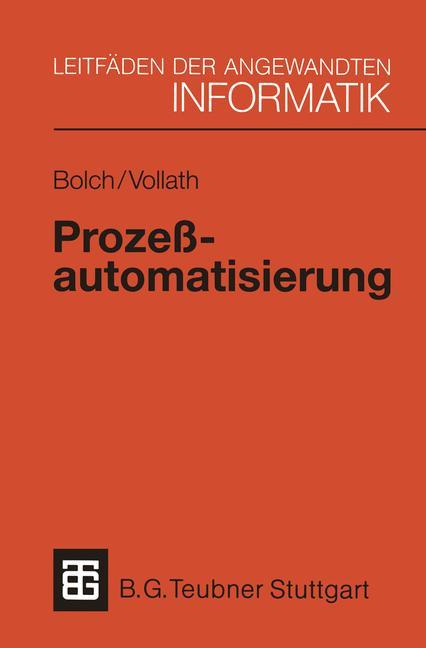 Prozeßautomatisierung: Aufgabenstellung, Realis...