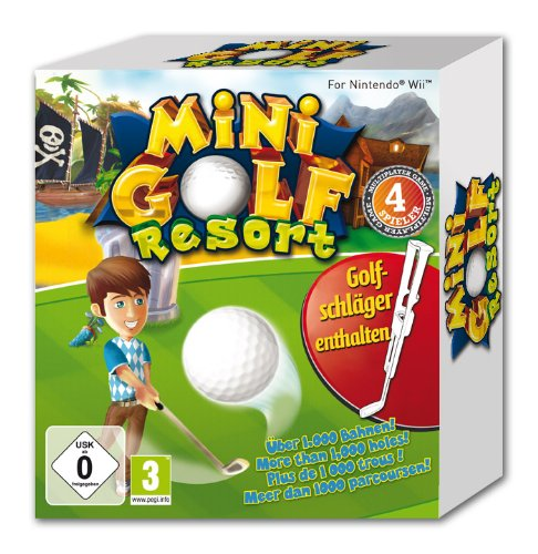 MiniGolf Resort Wii-Bundle
