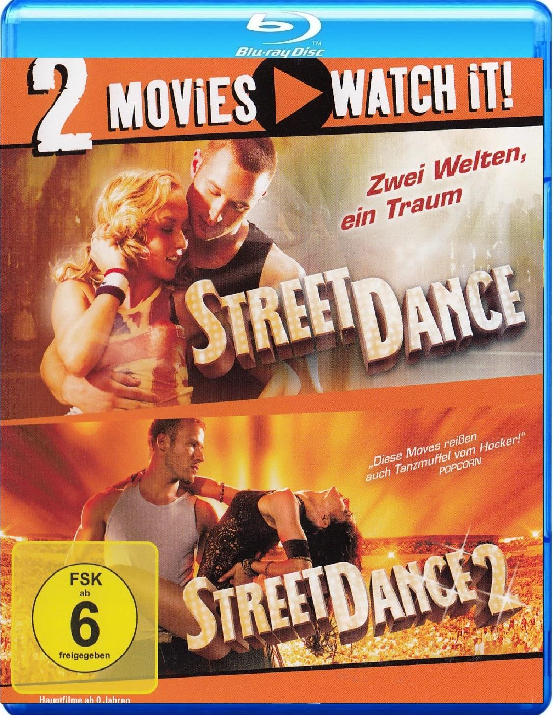 StreetDance 1 & 2 [2 Discs]