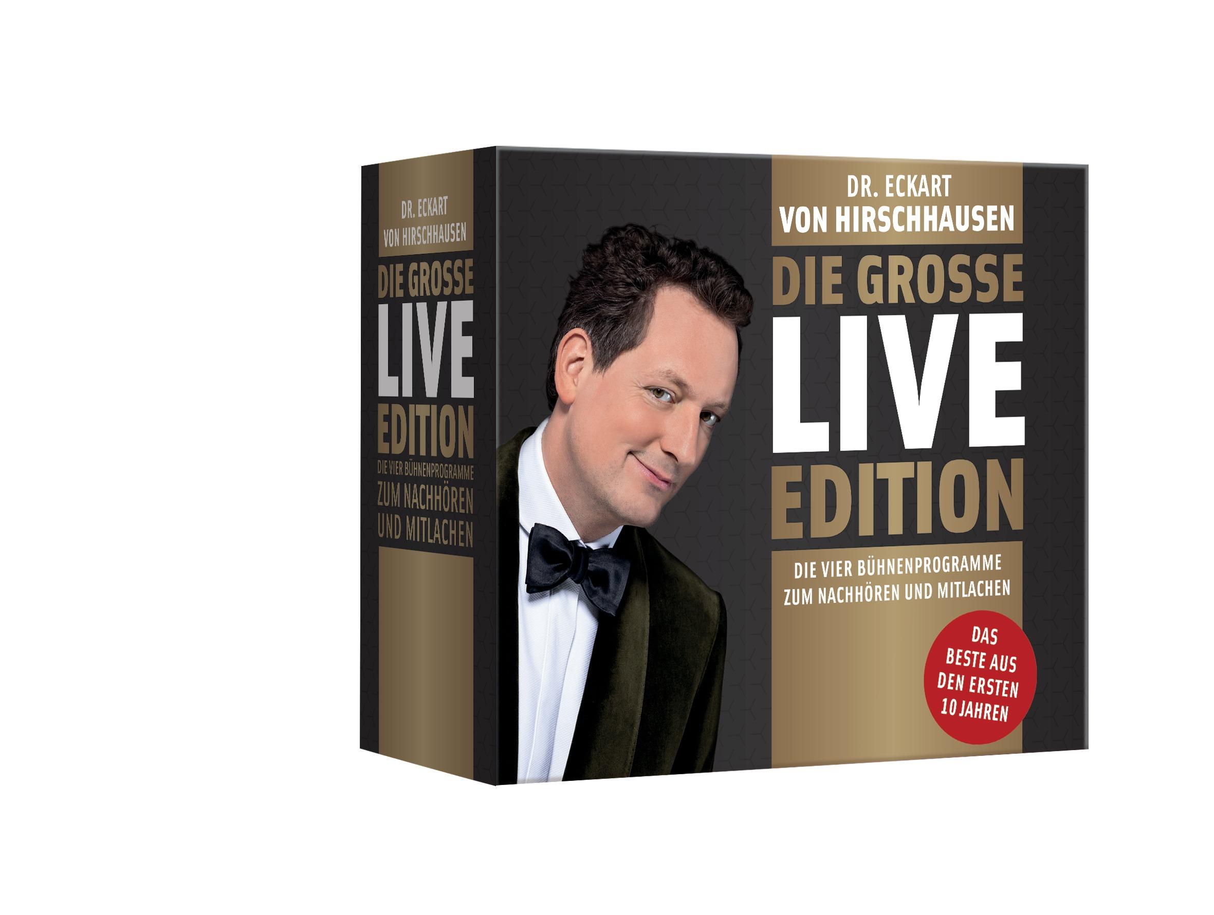 Die große Live-Edition: Die vier Bühnenprogramm...