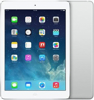 Apple iPad Air 9,7 16GB [Wi-Fi] silber