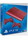 Sony PlayStation 3 super slim 12 GB SSD Garnet Red  [inkl. 2 Wireless Controller Red]