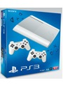 Sony PlayStation 3 super slim 12 GB SSD Azurite White  [inkl. 2 Wireless Controller White]