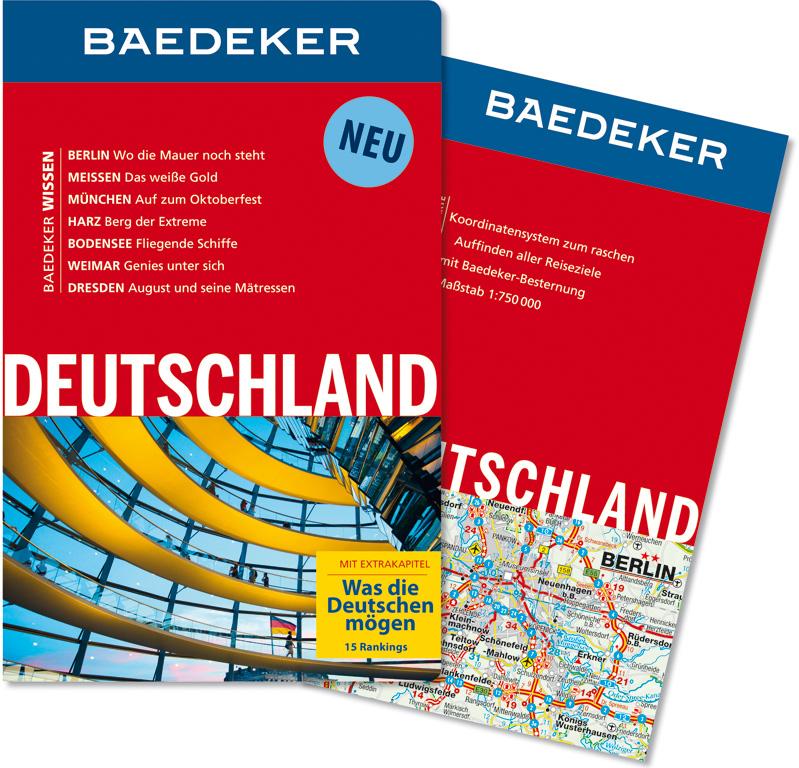 Baedeker Reiseführer Deutschland: Mit Extrakapitel: Was die Deutschen mögen - 15 Hitlisten - Baedeker-Redaktion