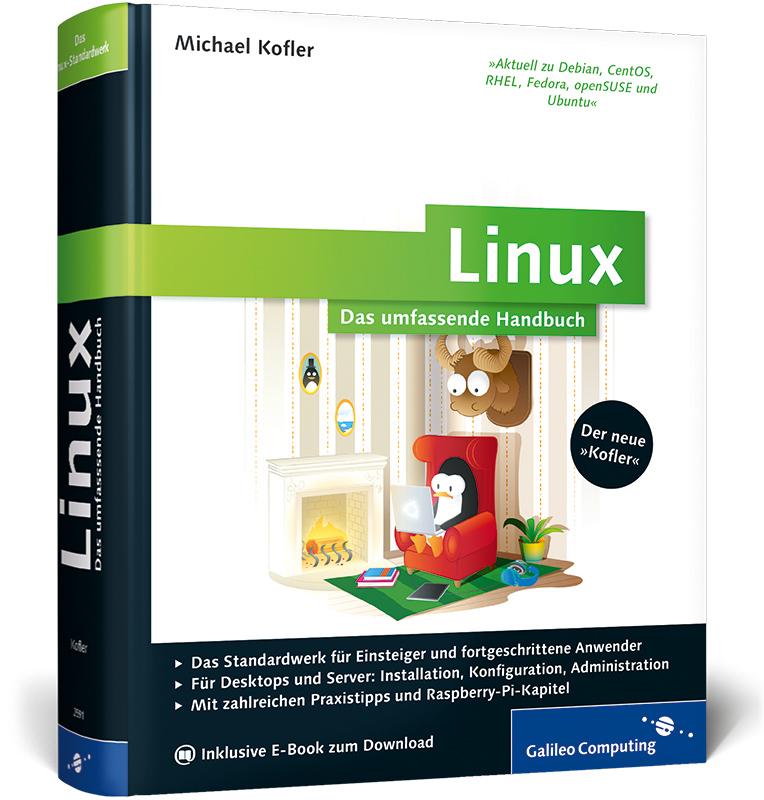 Linux: Das umfassende Handbuch (inkl. E-Book) (...