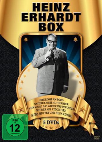 Heinz Erhardt Box [5 DVDs]