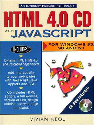 HTML 4.0 CD with JavaScript with CDROM: For Win...