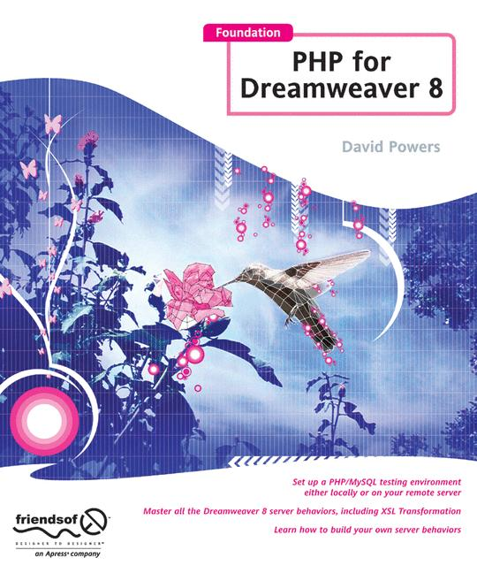 Foundation Php For Dreamweaver 8 - Powers, David