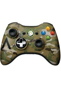 Microsoft Xbox 360 Wireless Controller [Limited Edition] camouflage ...