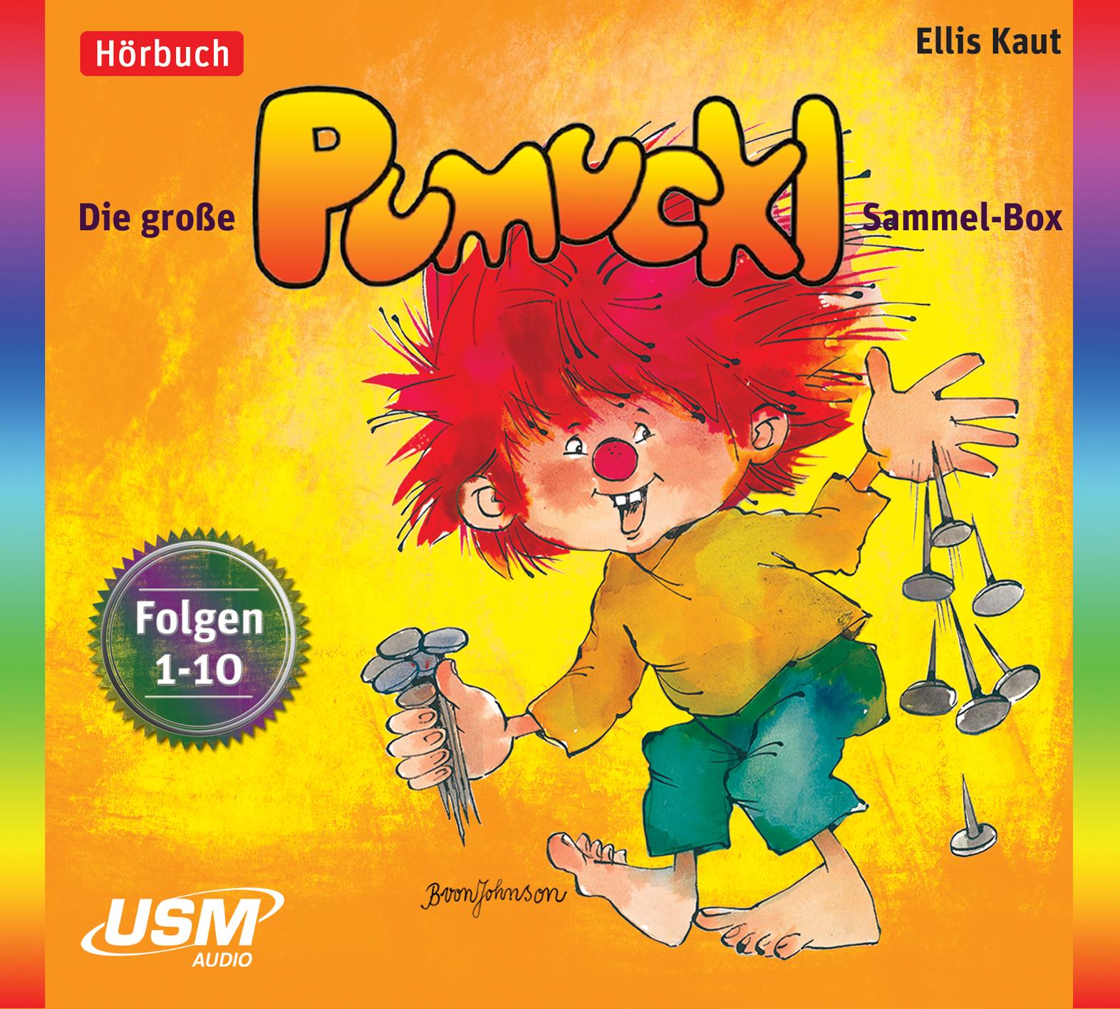 Die große Pumuckl Sammel-Box: Folgen 1-10 - Ellis Kaut [10 Audio CDs]