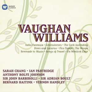 VAUGHAN WILLIAMS - ORCHESTRAL AND VOCAL FAVORITES