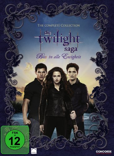 Die Twilight Saga - Biss in alle Ewigkeit/The Complete Collection [11 DVDs]