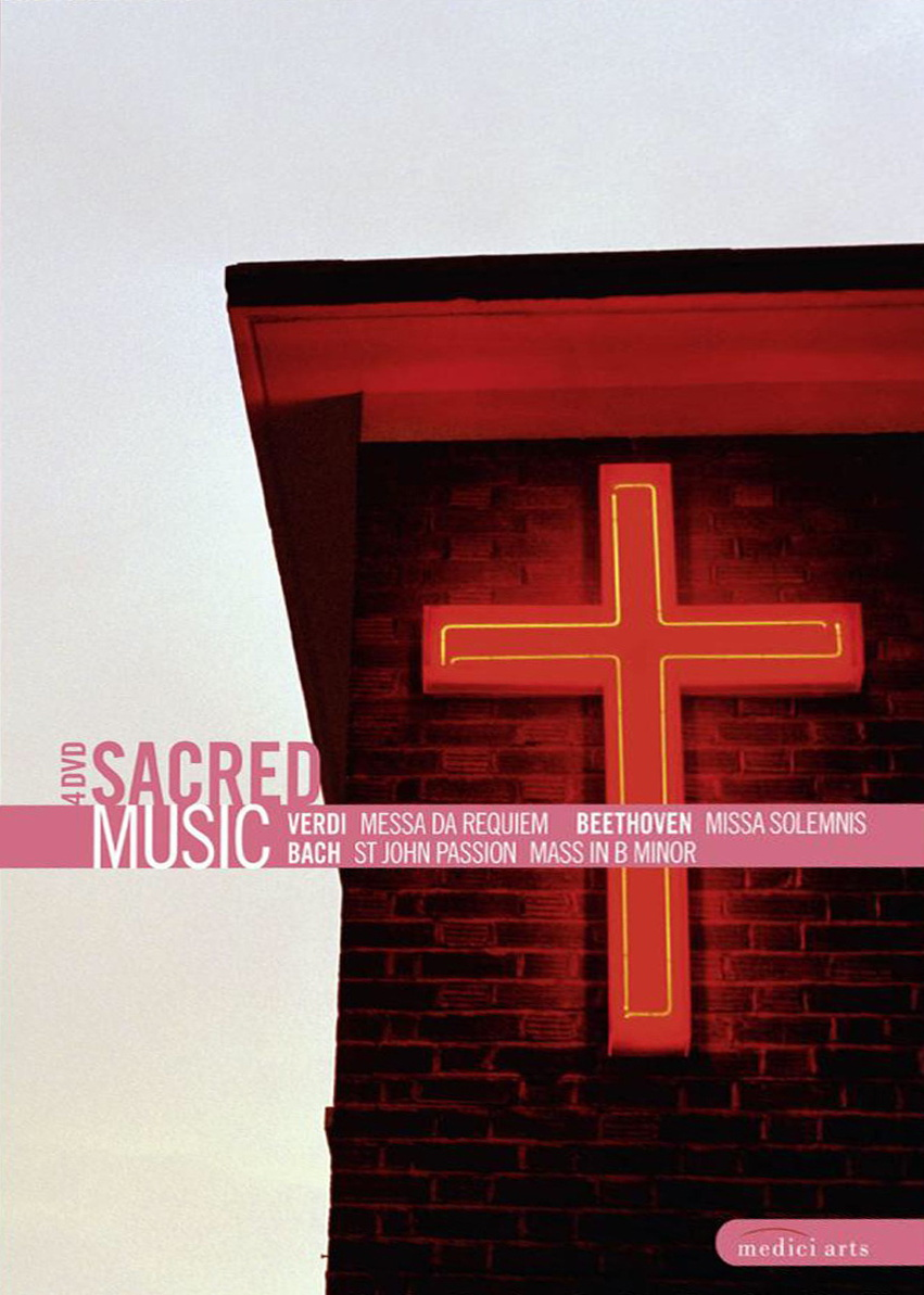 SACRED MUSIC (4 DVD Box) - Bach, Beethoven, Verdi