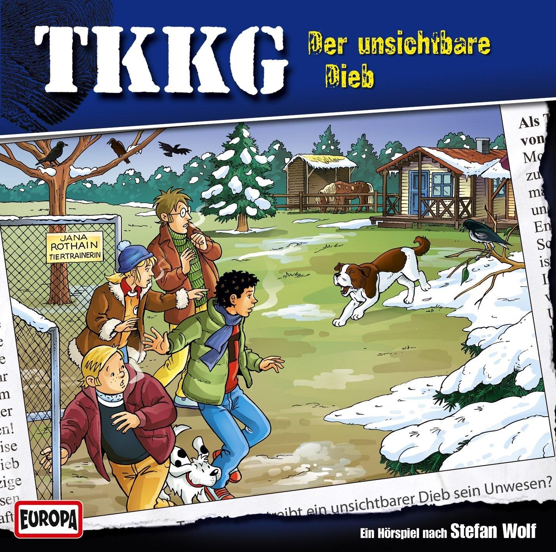 TKKG: Folge 185 - Der unsichtbare Dieb