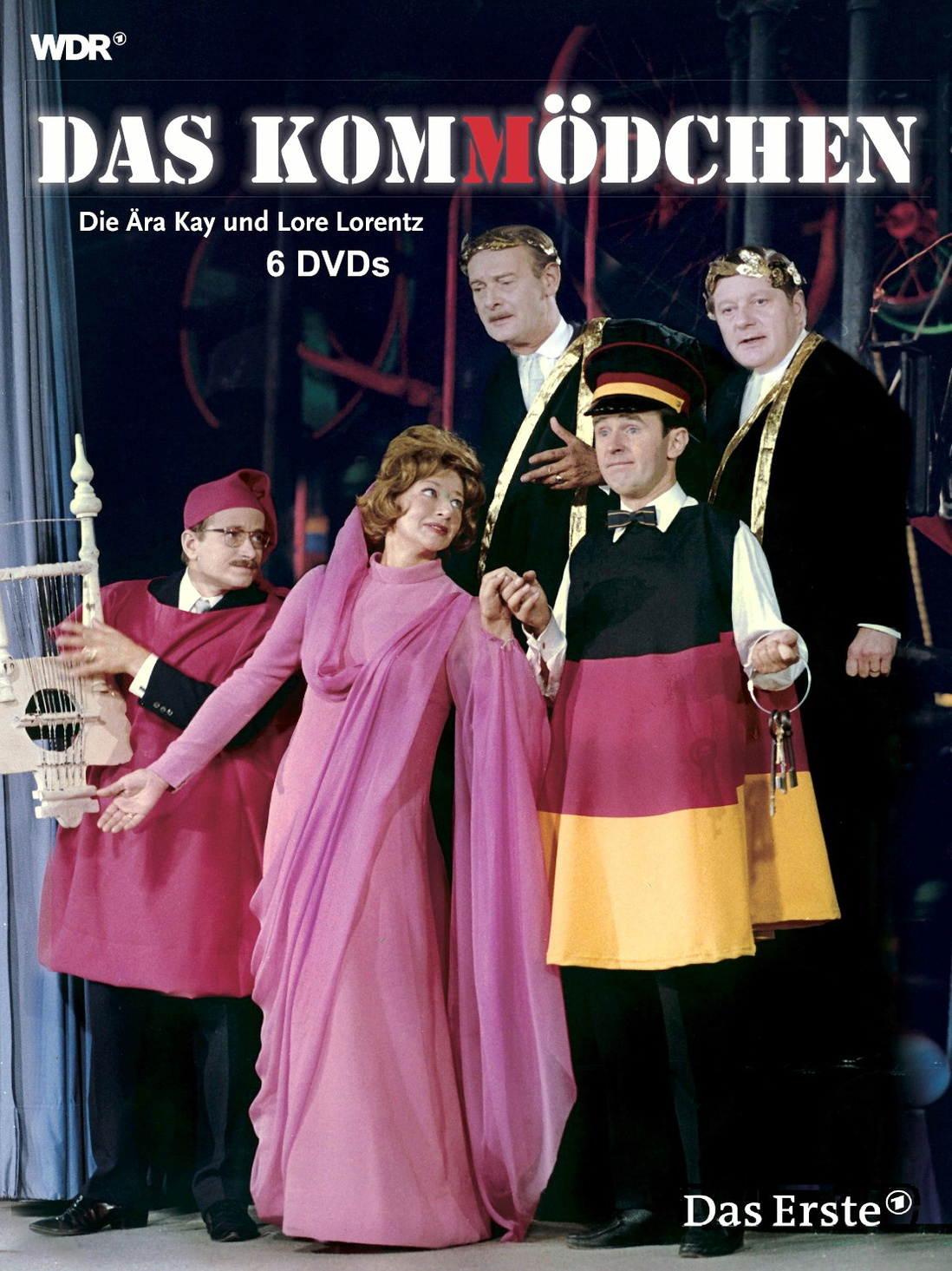 Das Kom(m)ödchen - die Ära Kay und Lore Lorentz [6 DVDs]