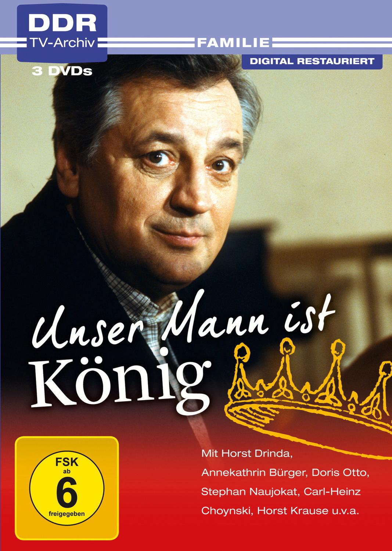 Unser Mann ist König [DDR TV-Archiv, 3 DVDs]