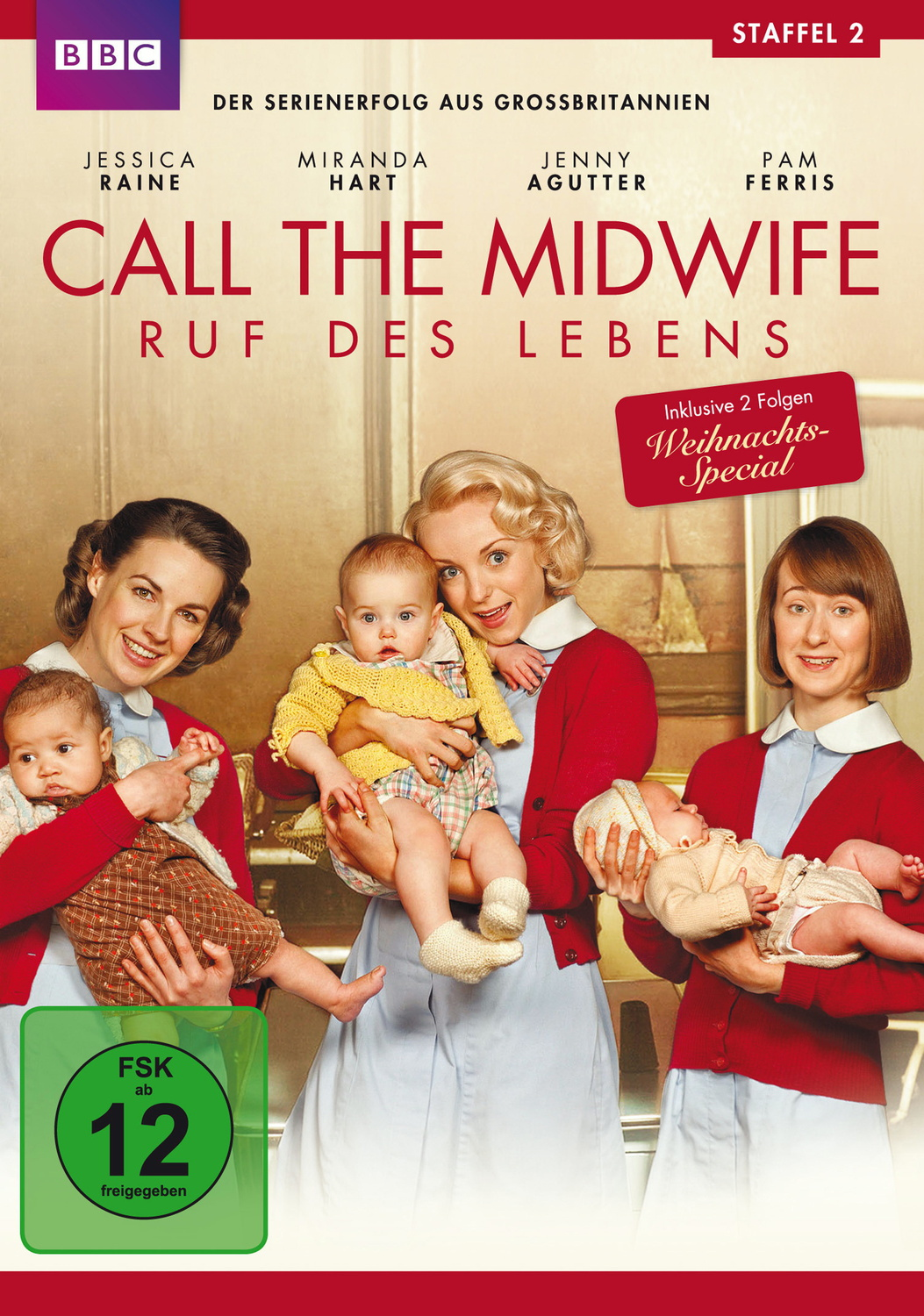 Call the Midwife - Ruf des Lebens, Staffel 2 [3 DVDs]