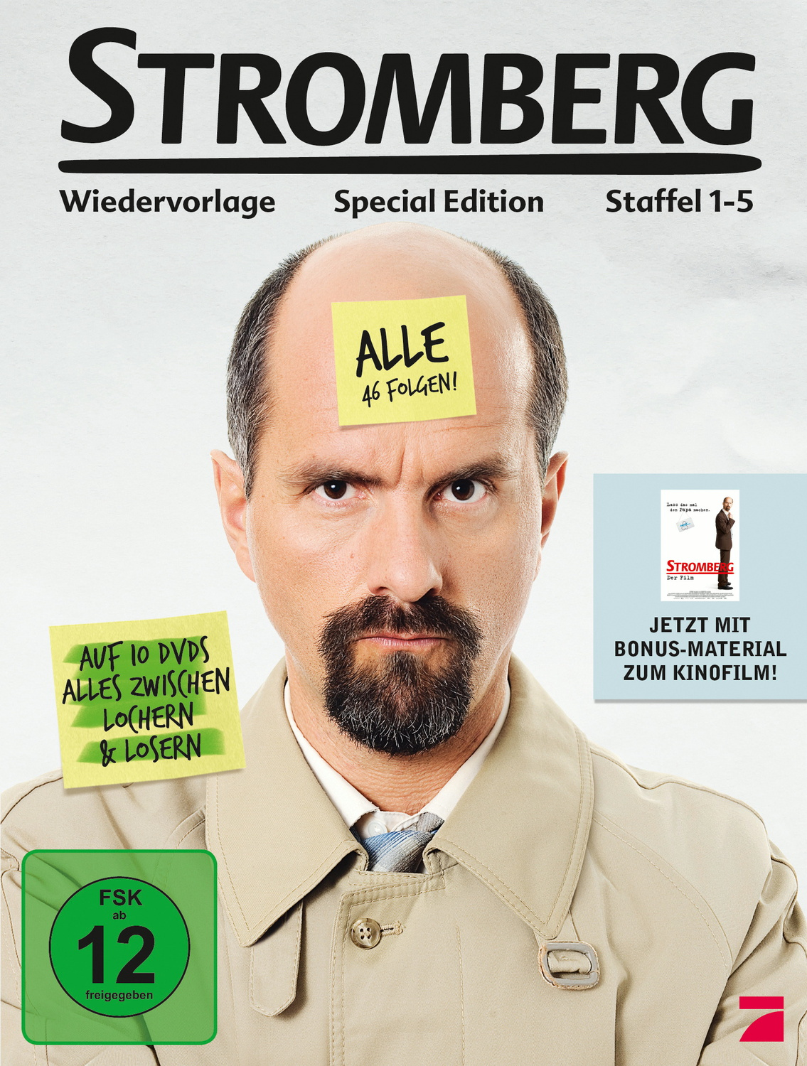 Stromberg - Staffel 1-5 [Deluxe Edition, 10 DVDs]