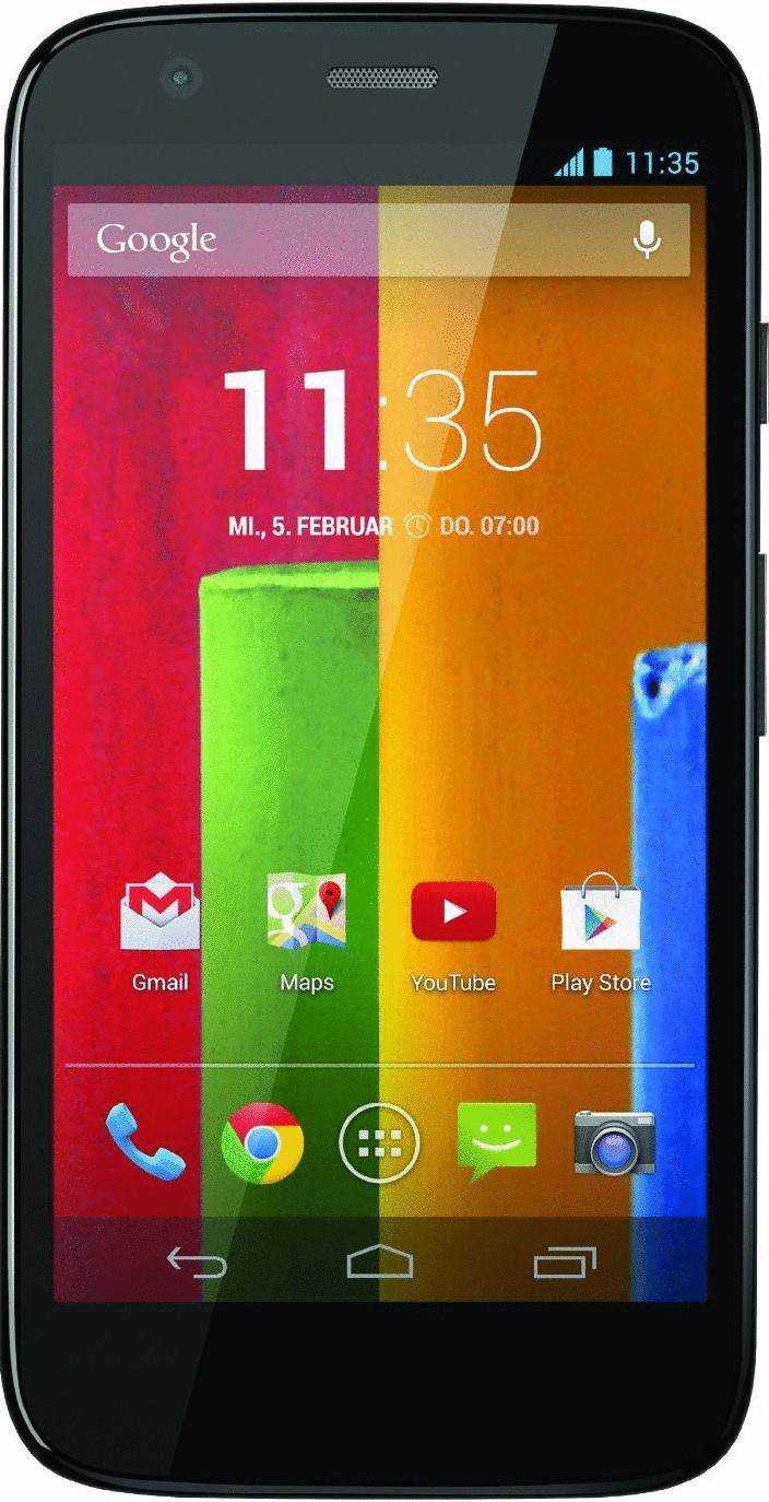 Motorola Moto G 8GB schwarz