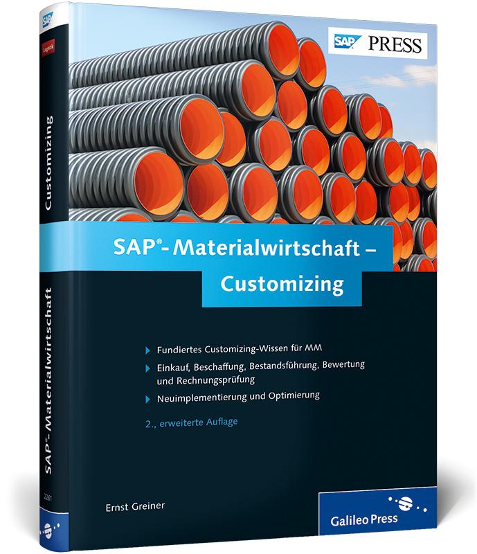 SAP-Materialwirtschaft - Customizing (SAP PRESS...