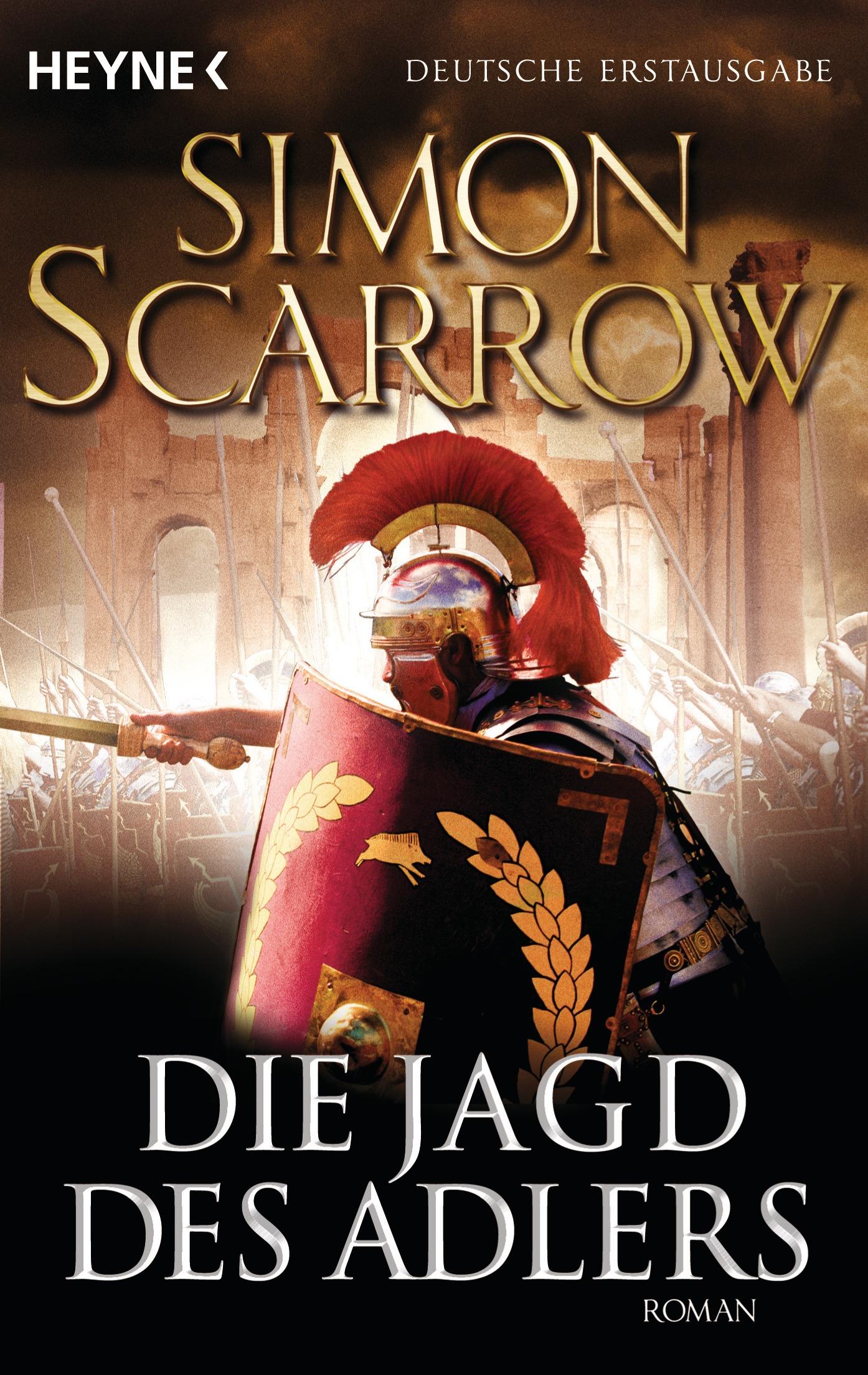 Die Rom-Serie: Band 7 - Die Jagd des Adlers - Simon Scarrow