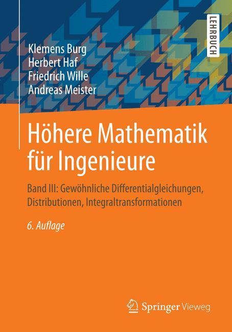 Höhere Mathematik für Ingenieure: Band III: Gew...