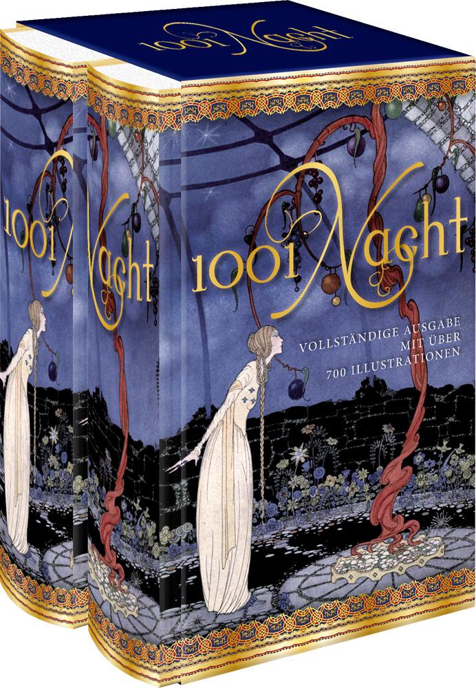 1001 Nacht: Vollständige Ausgabe mit über 700 Illustrationen - Gustav Weil [2 Bände im Schuber]