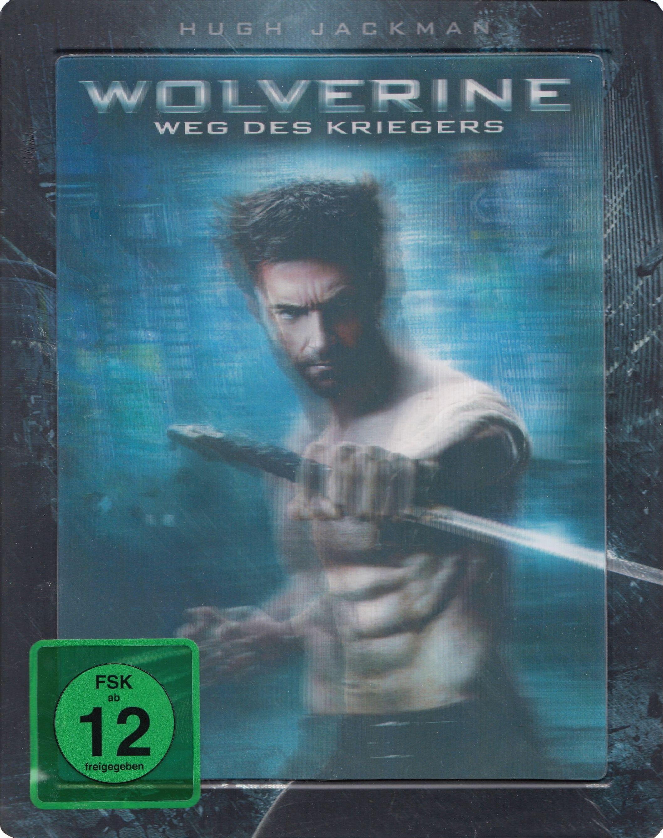 Wolverine: Weg des Kriegers 3D [3 Discs, Collectors Edition inkl. 2D Version, Steelbook]