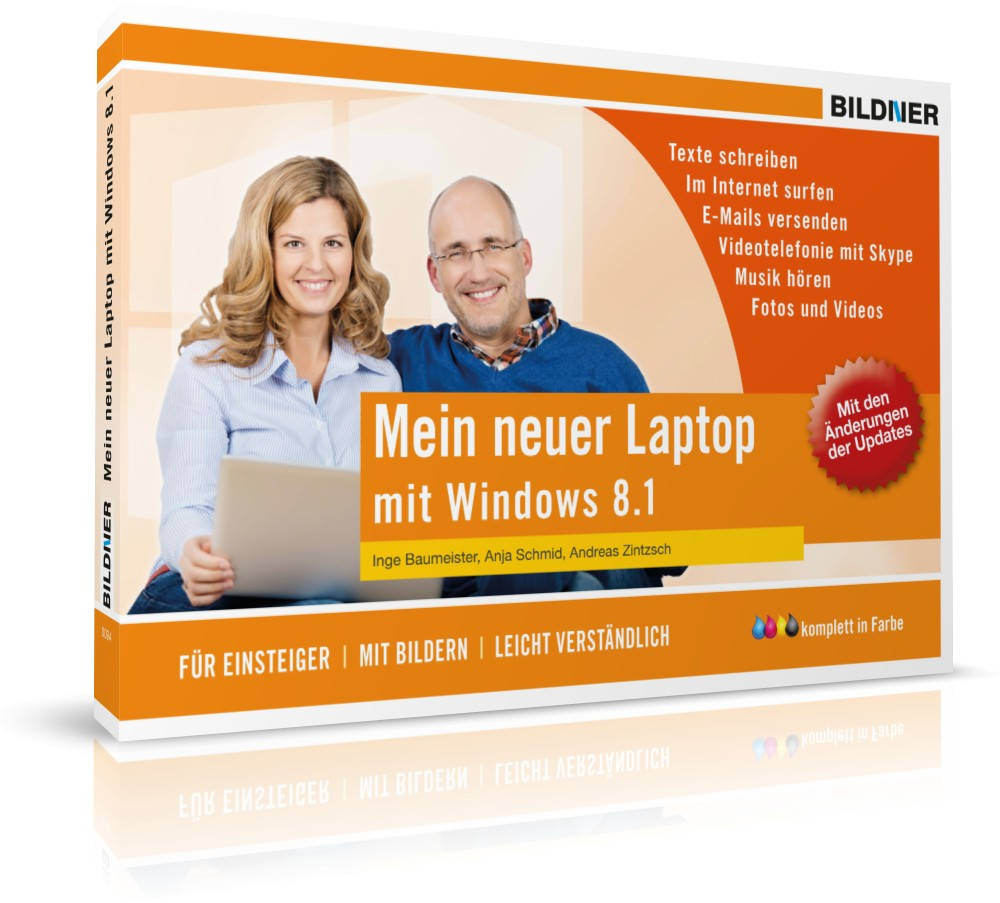 Mein neuer Laptop mit Windows 8.1: Briefe, Foto...