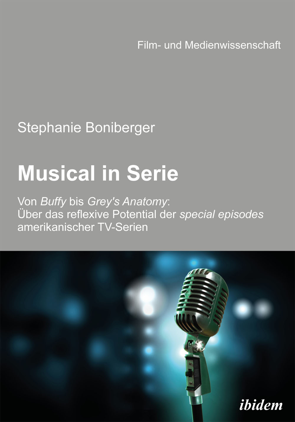 Musical in Serie: Von Buffy bis Grey´s Anatomy ...