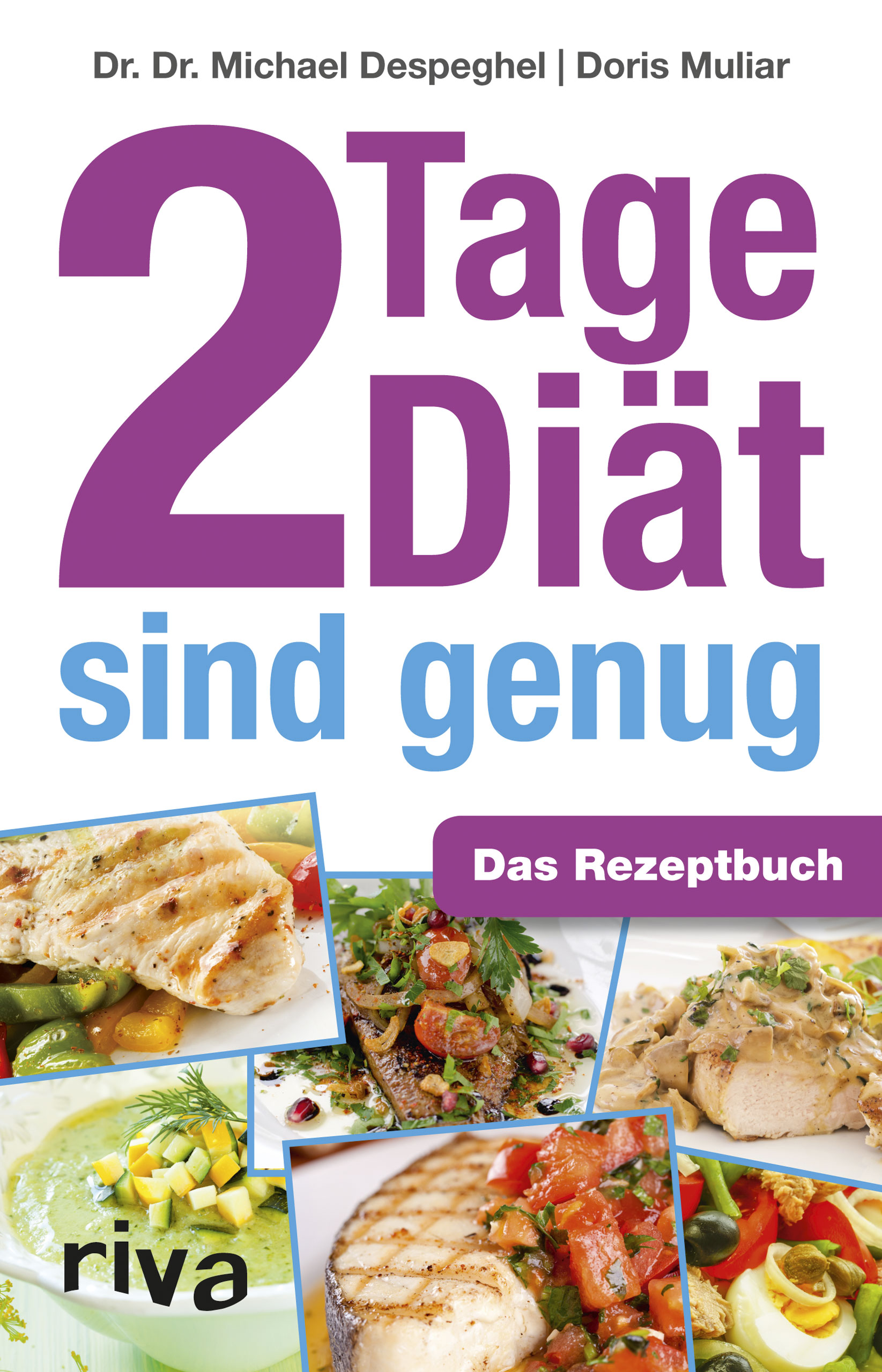 2 Tage Diät sind genug: Das Rezeptbuch - Michael Despeghel
