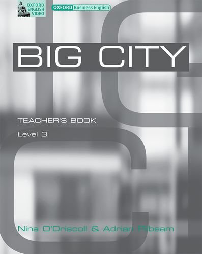 Big city 3 video guide: Teacher´s Book Level 3 ...
