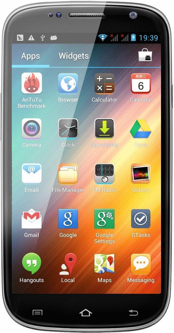 Swees Smartphone 4GB schwarz