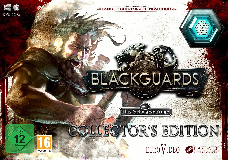 Das Schwarze Auge: Blackguards [Collectors Edition inkl. Handbuch, Soundtrack, Poster, Artbook, 12 cm Drachen-statue]