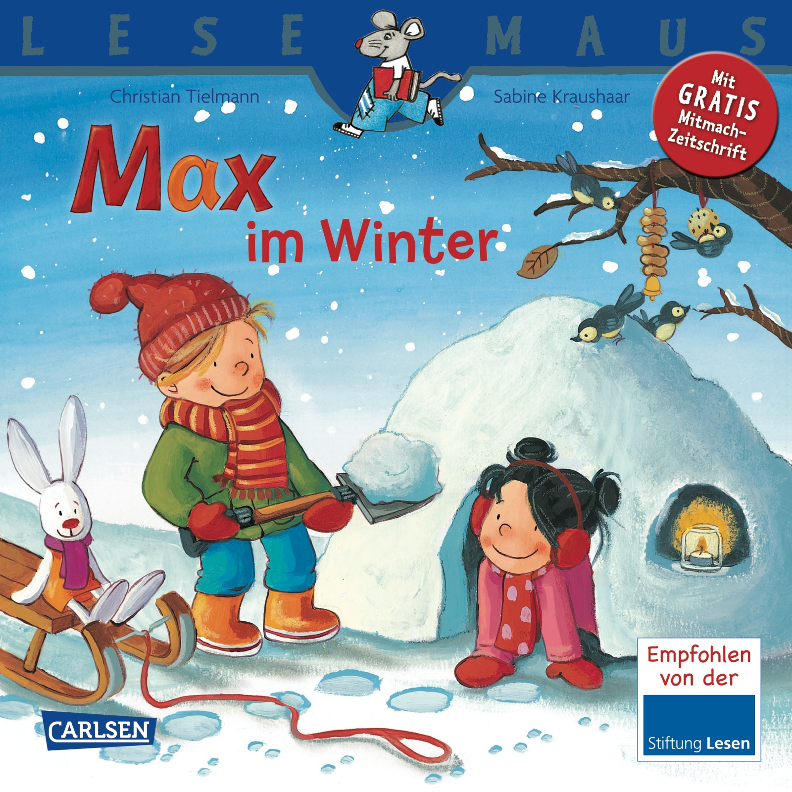 Lesemaus - Band 63: Max im Winter - Christian Tielmann [Broschiert]