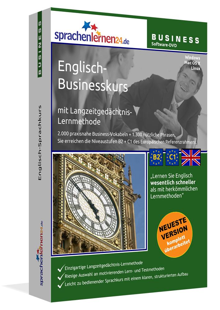 Englisch-Businesskurs mit Langzeitgedächtnis-Le...
