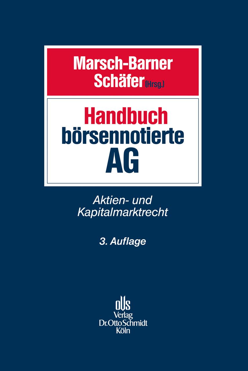Handbuch börsennotierte AG: Aktien- und Kapital...