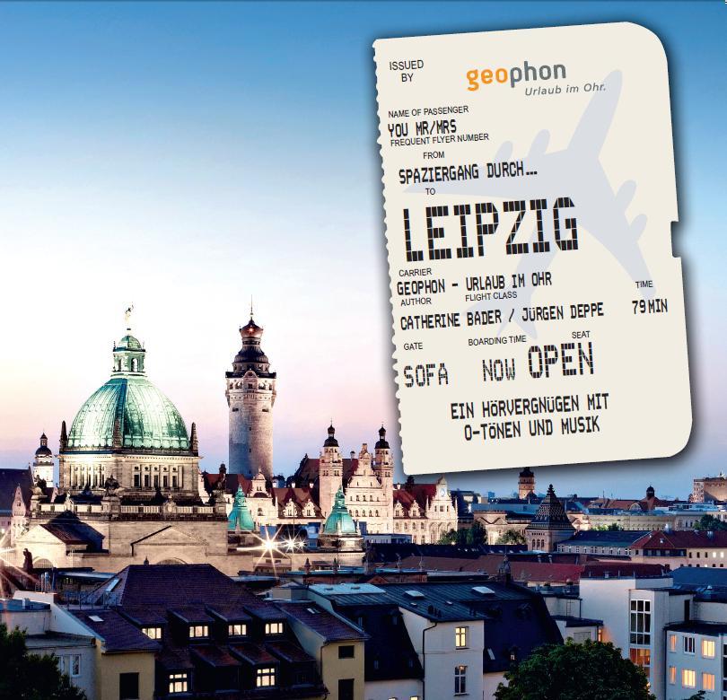 Spaziergang durch Leipzig - Bader, Catherine