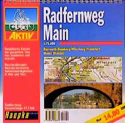 Geführte Radtouren: Radfernweg Main 1 : 75 000.