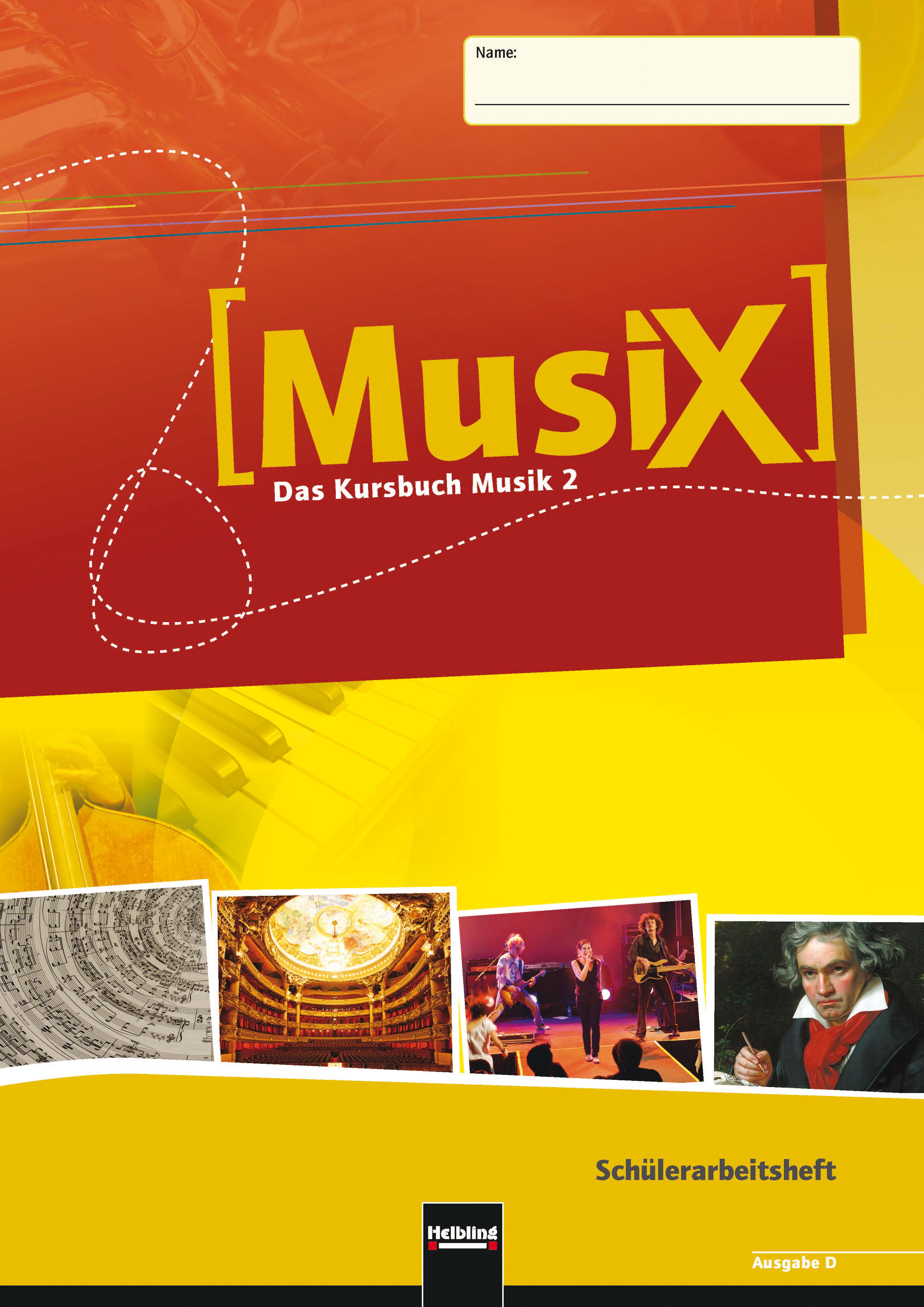 Detterbeck, M: MusiX - Das Kursbuch Musik 2. Sc...